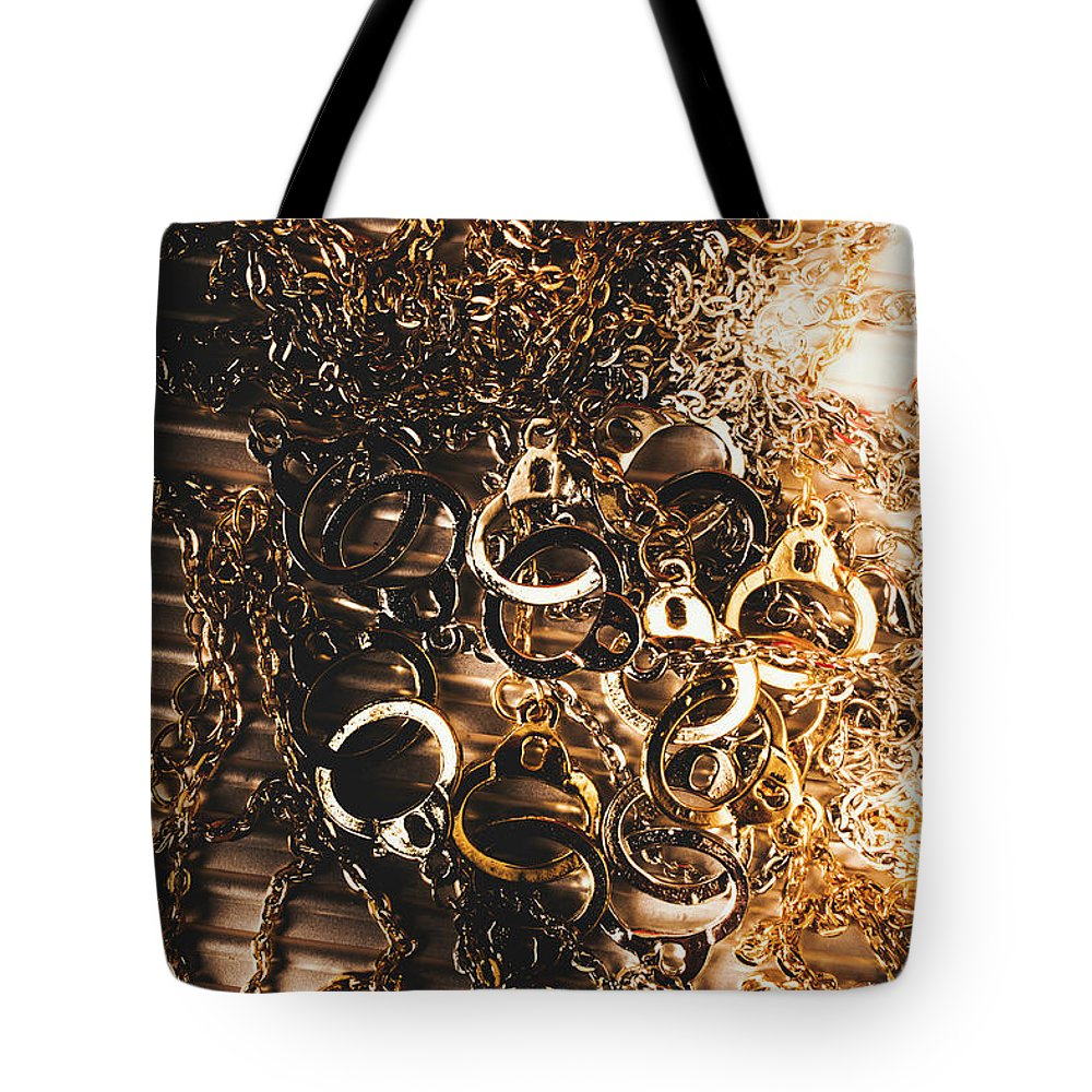 Jail Tote Bag featuring the photograph Messy Corruption by Jorgo Photography - Wall Art Gallery