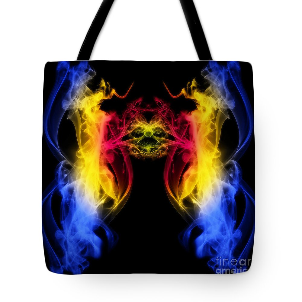 Clay Tote Bag featuring the digital art Metamorphis by Clayton Bruster