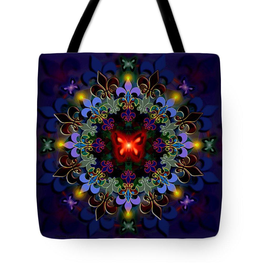 Spiritual Tote Bag featuring the digital art Metamorphosis Dream II by Stephen Lucas