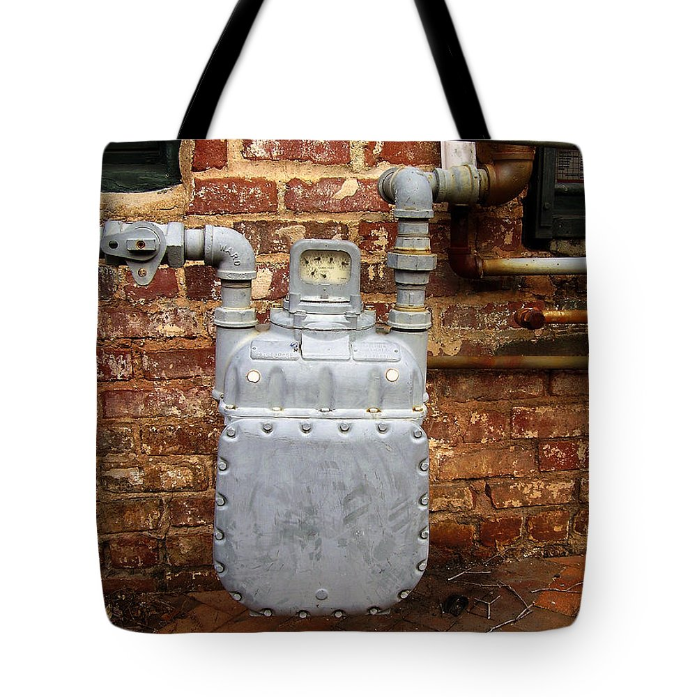 Meter Tote Bag featuring the photograph Meter II In Athens Ga by Flavia Westerwelle