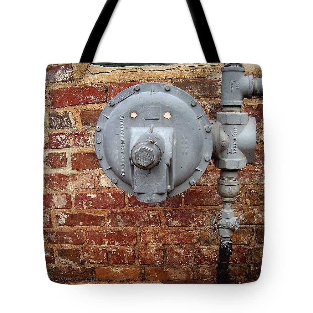 Meter Tote Bag featuring the photograph Meter In Athens Ga by Flavia Westerwelle