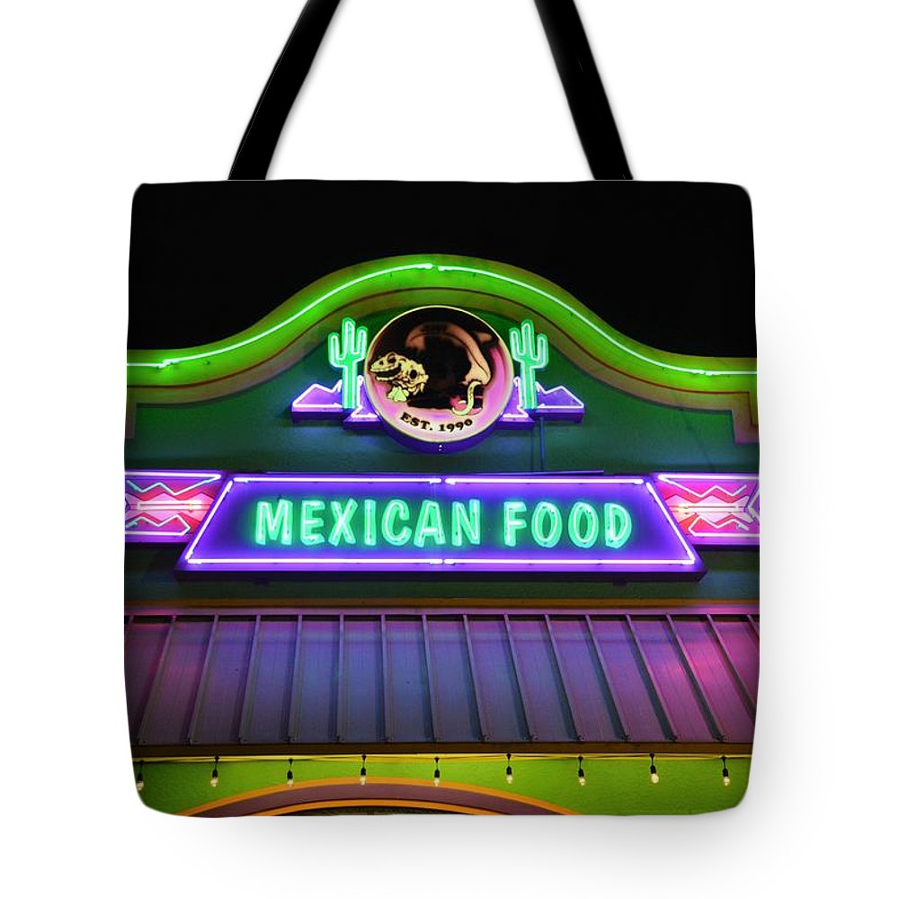 Mexican Food Tote Bag featuring the photograph Mexican Food by Don Columbus