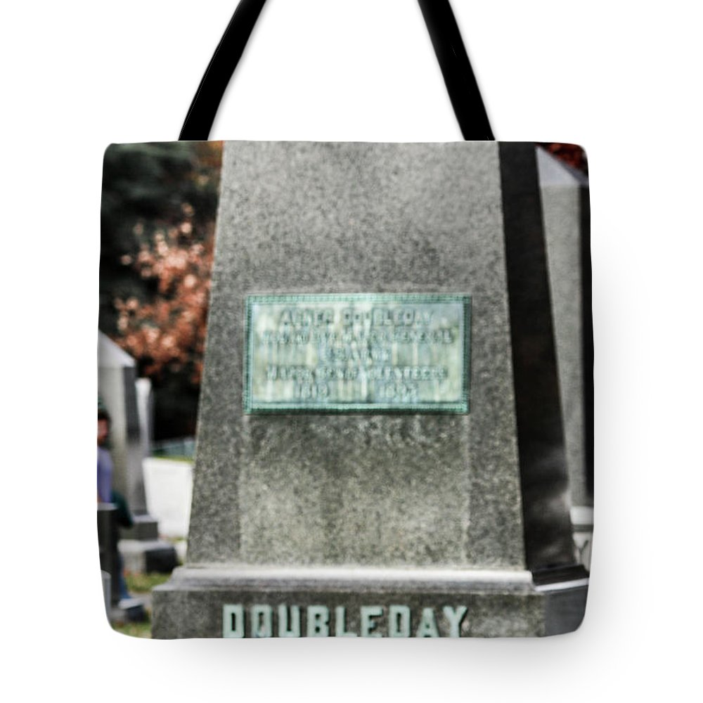 Abner Doubleday (june 26 Tote Bag featuring the photograph Mg Abner Doubleday by William Rogers
