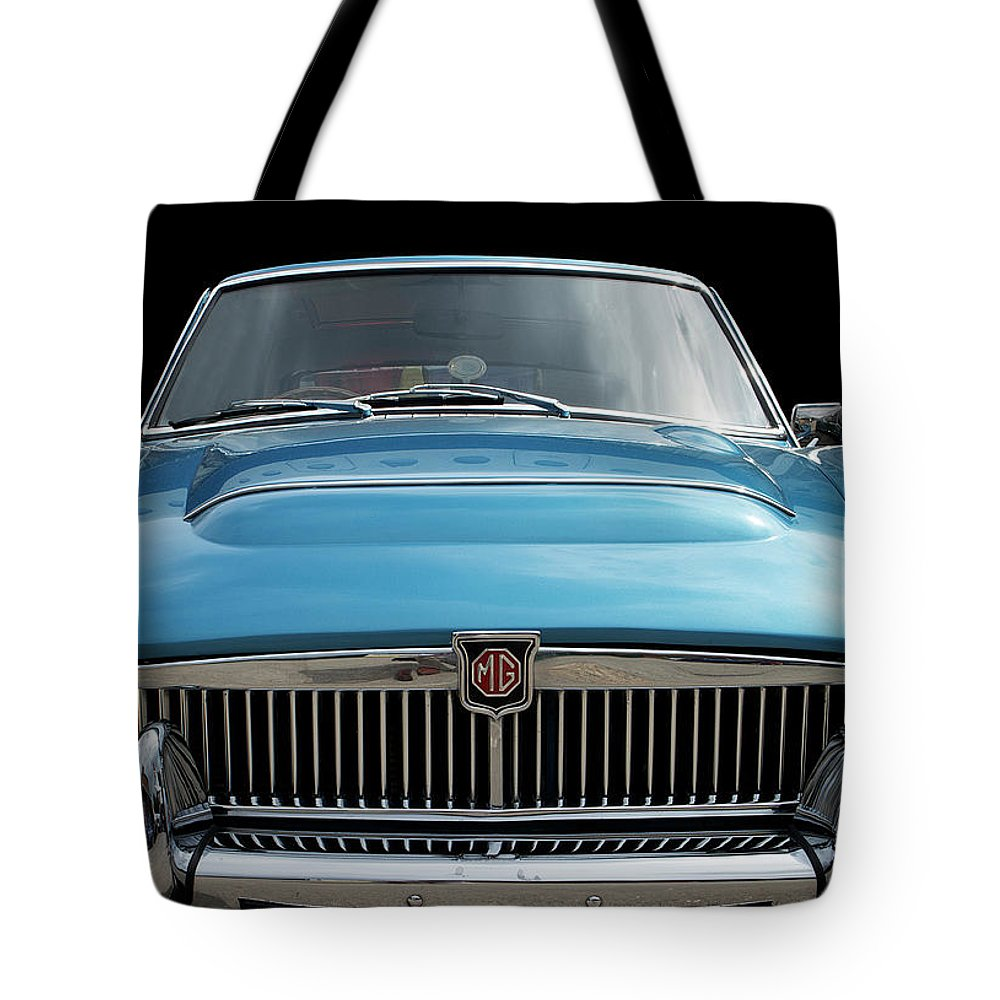 Mgc Tote Bag featuring the photograph Mgc Classic Car by Peter Lloyd