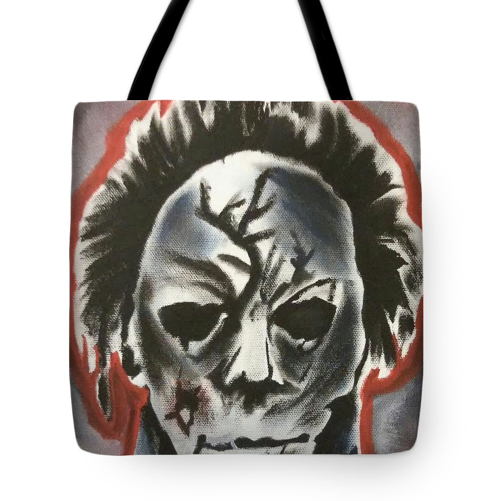 Michael Tote Bag featuring the painting Michael by TJ Conroy