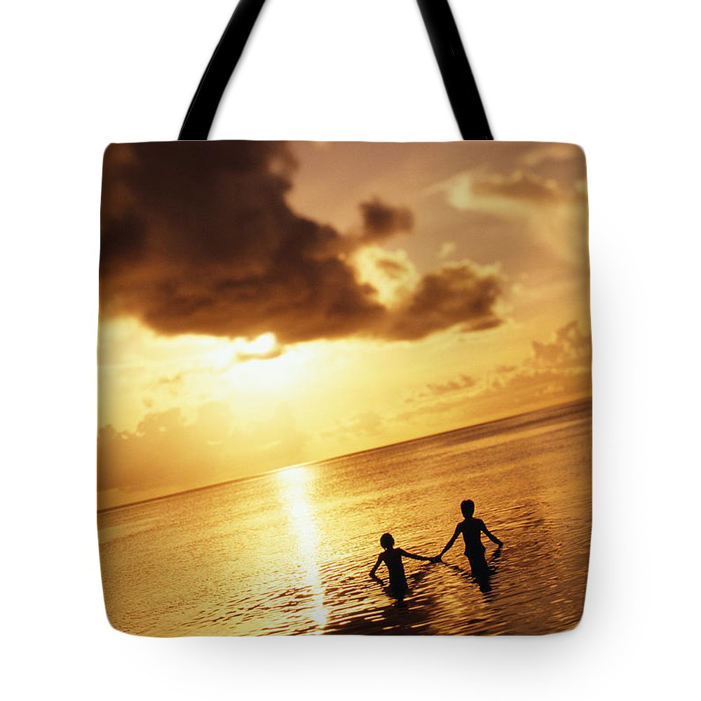 Affection Tote Bag featuring the photograph Micronesia, Guam by Dana Edmunds - Printscapes