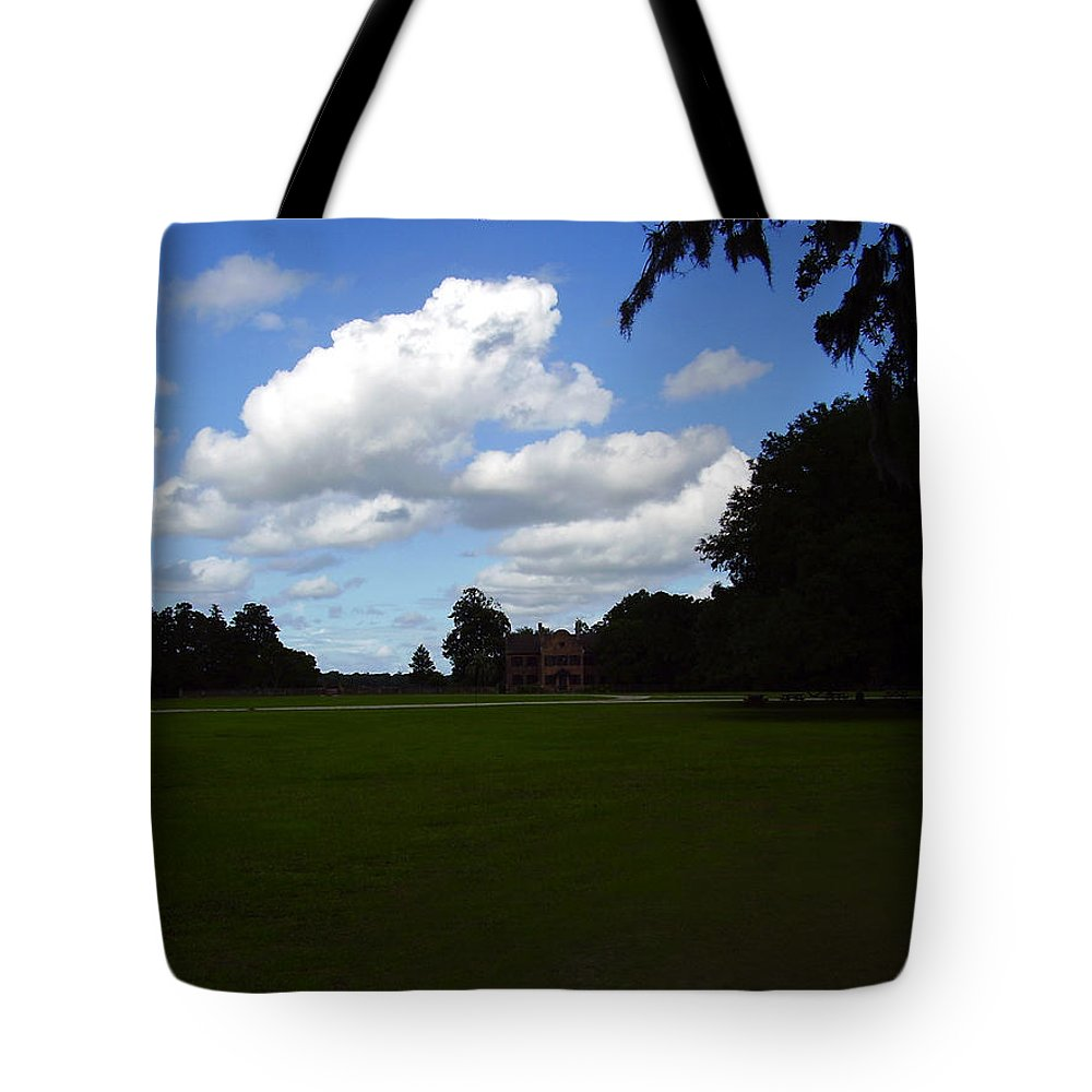 Middleton Place Tote Bag featuring the photograph Middleton Place by Flavia Westerwelle