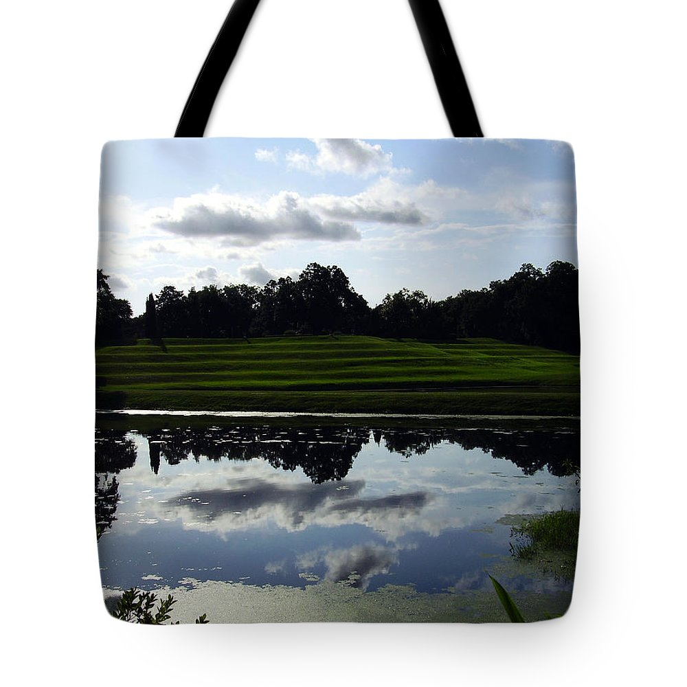 Middleton Place Tote Bag featuring the photograph Middleton Place II by Flavia Westerwelle