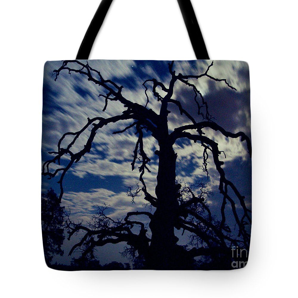 Clouds Tote Bag featuring the photograph Midnight Blue by Peter Piatt