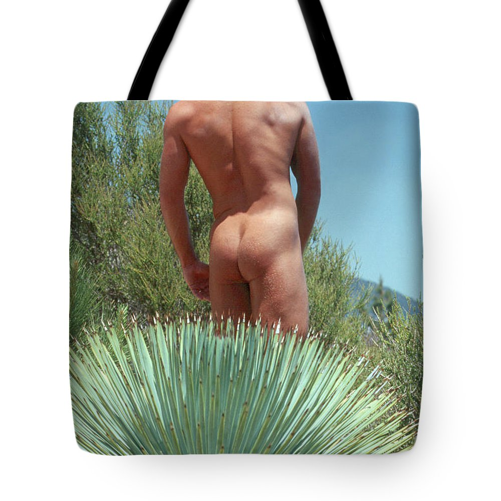 Male Tote Bag featuring the photograph Mike L. 20 by Andy Shomock