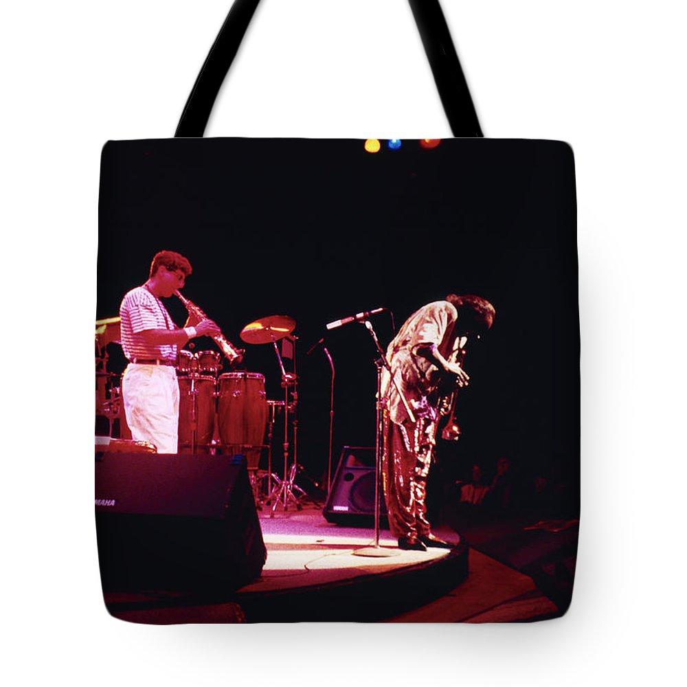 Miles Davis Tote Bag featuring the photograph Miles Davis Image 8  by Derek Moore