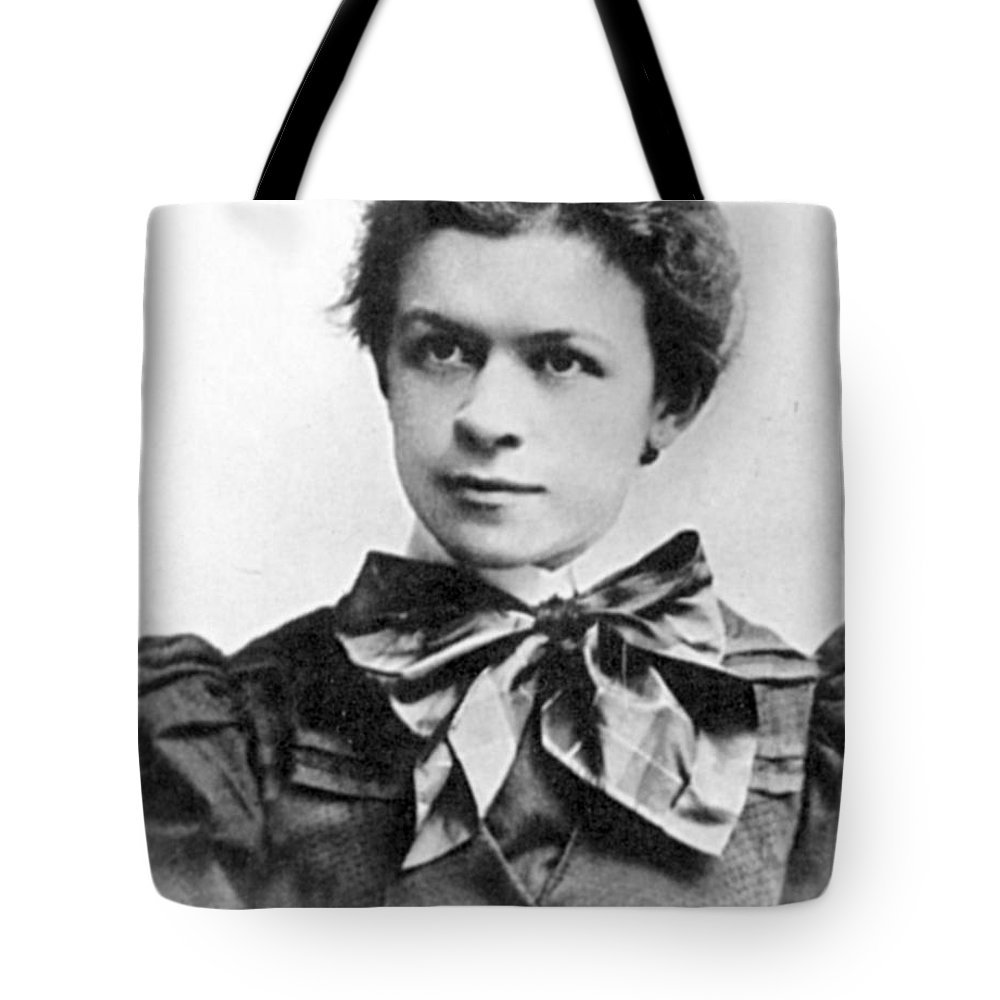 19th Century Tote Bag featuring the photograph Mileva Maric (1875-1948) by Granger