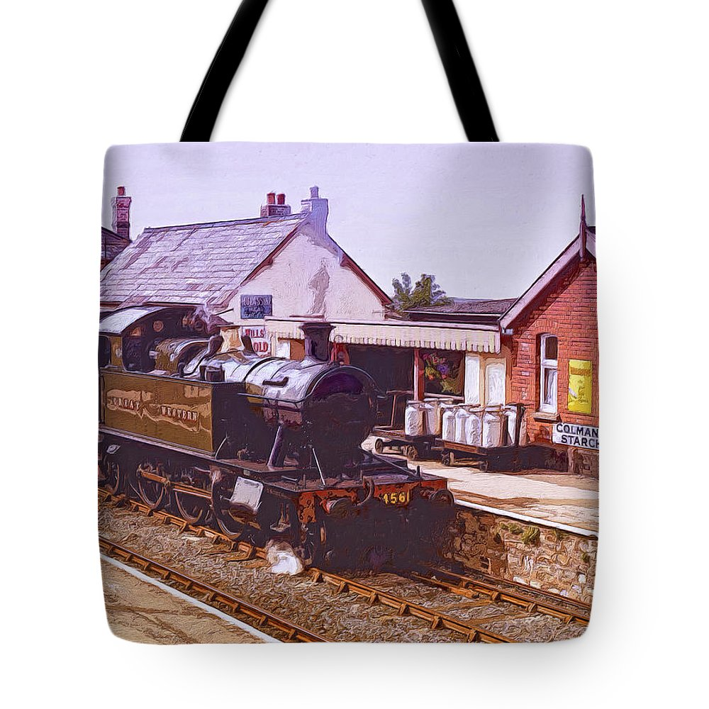 Milk Run Tote Bag featuring the painting Milk Run by Dominic Piperata