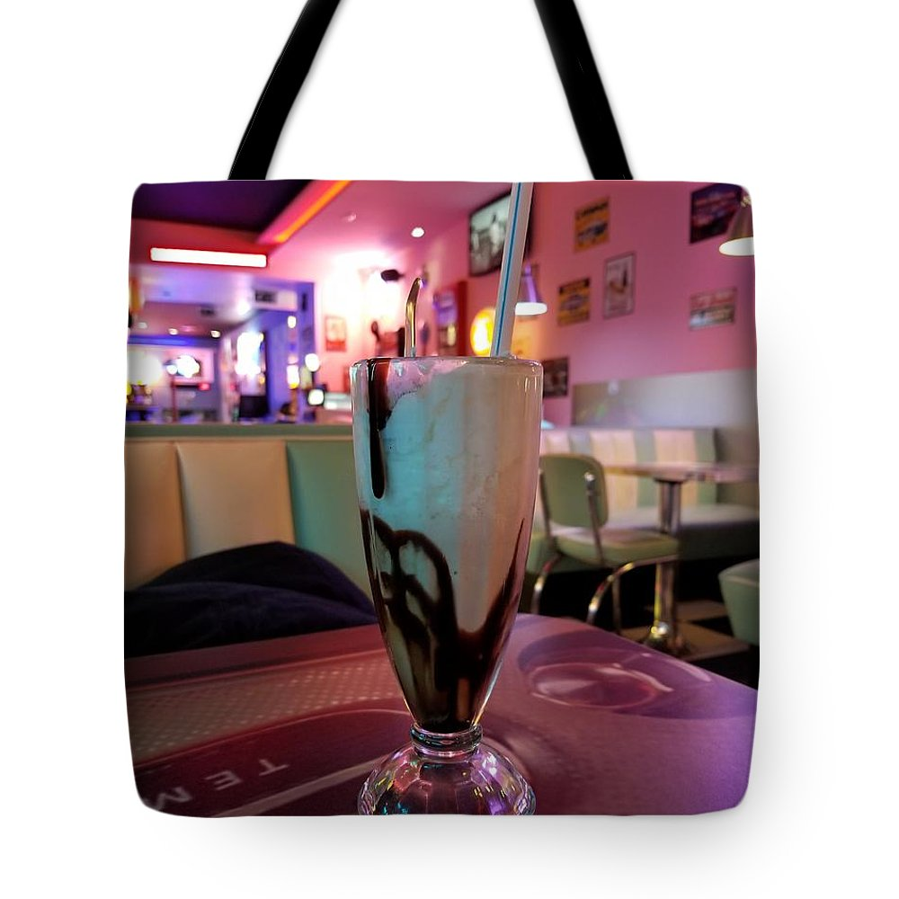 Tote Bag featuring the photograph Milkshake by Sanchit Sharda
