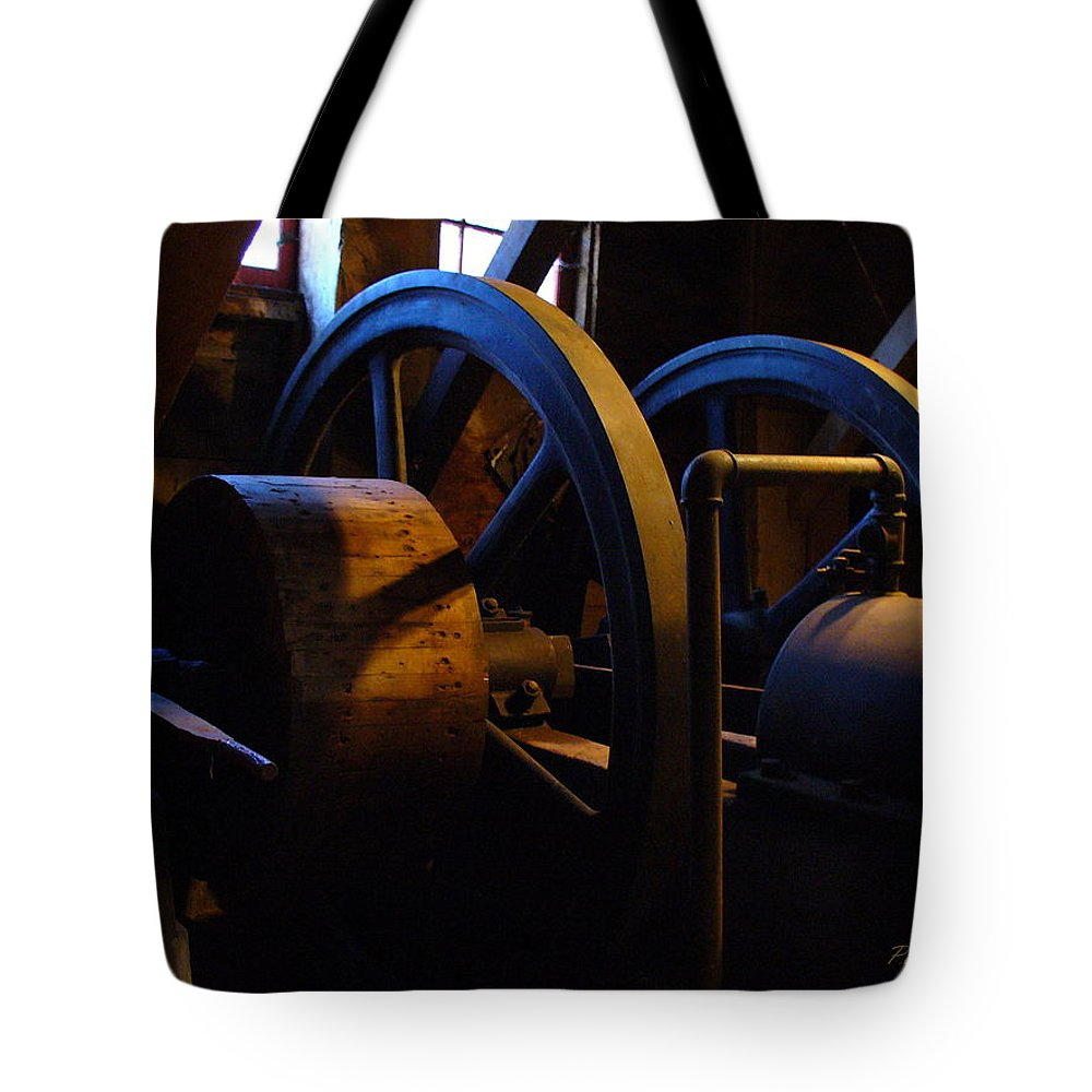 Power Tote Bag featuring the photograph Mill Power by Peggy King
