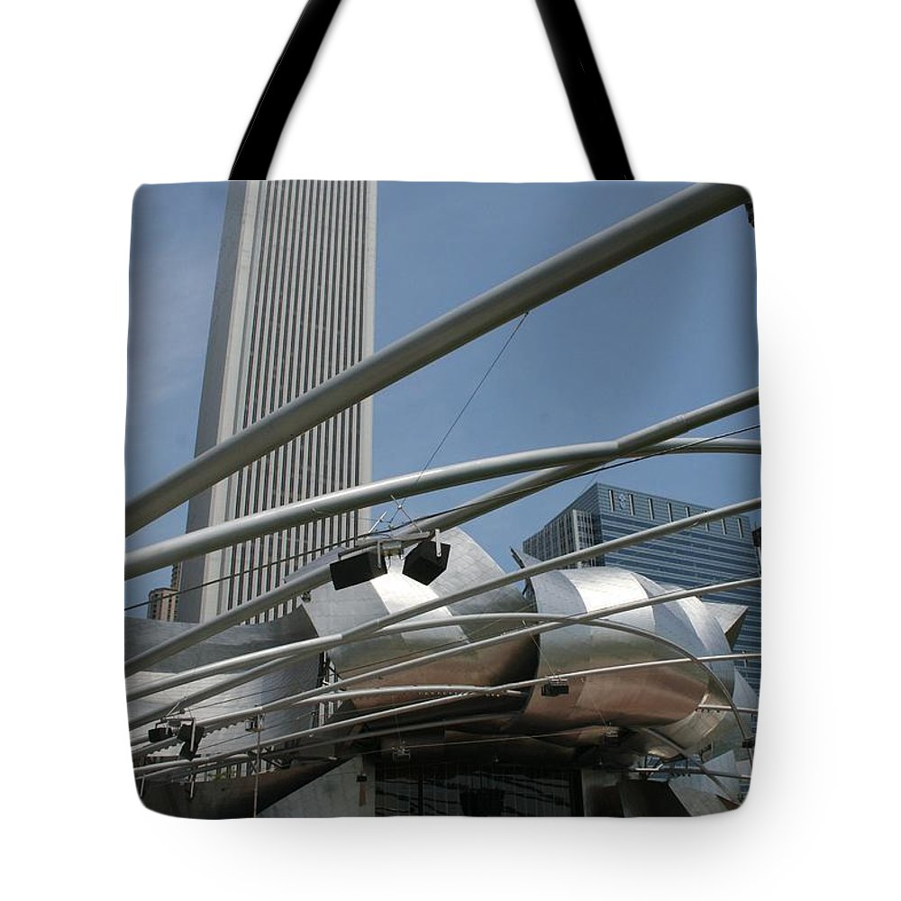 Cityscape Tote Bag featuring the photograph Millennia by Dylan Punke