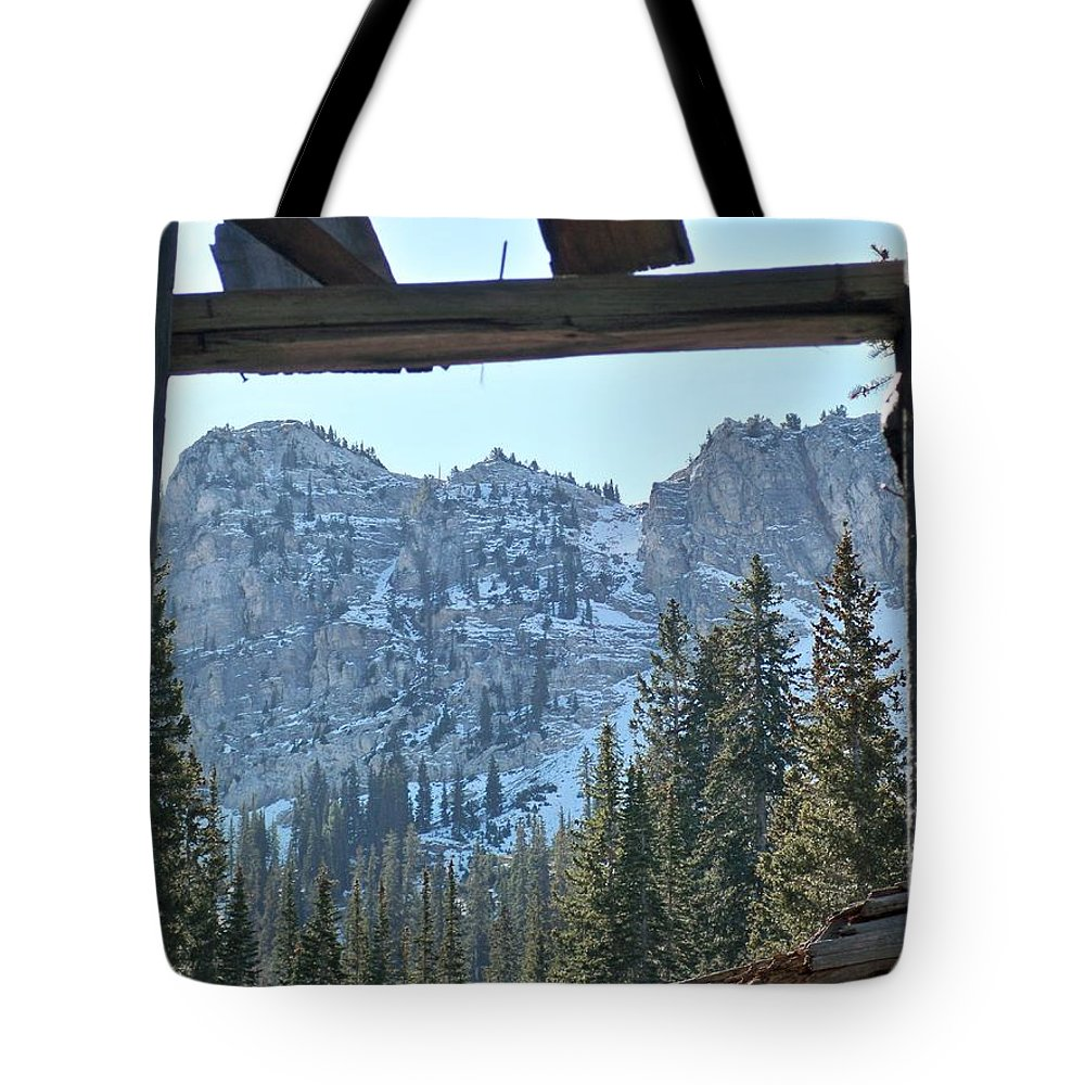 Mountain Tote Bag featuring the photograph Miners Lost View by Michael Cuozzo