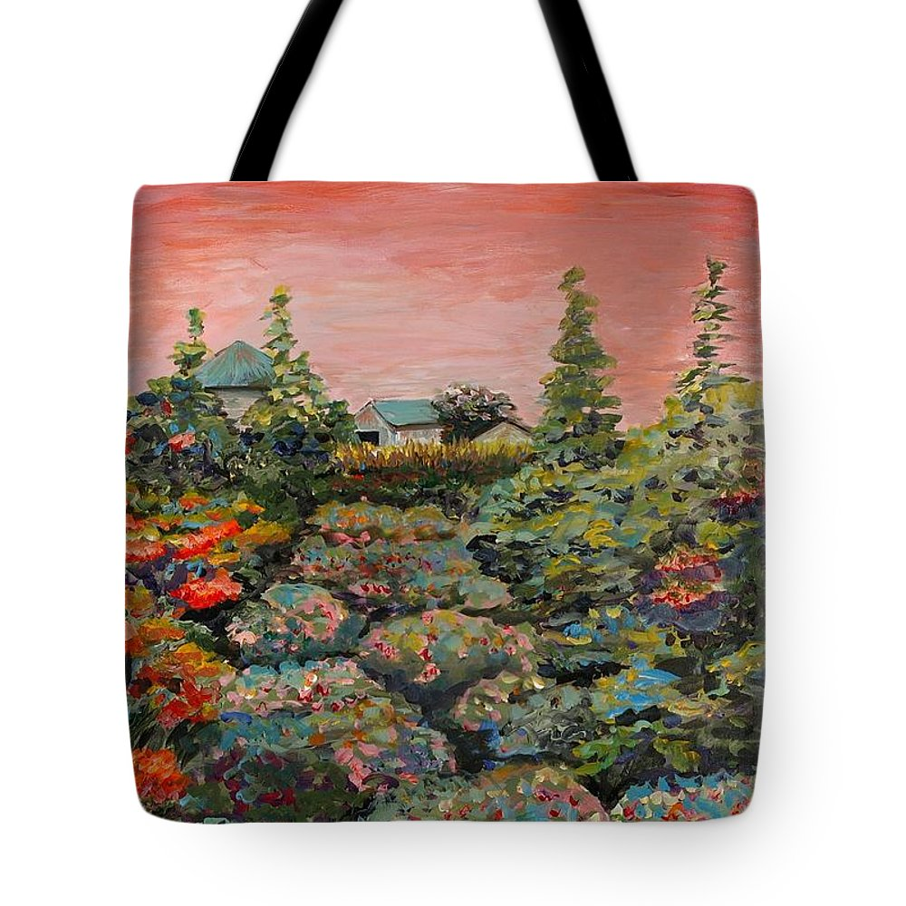 Minnesota Tote Bag featuring the painting Minnesota Memories by Nadine Rippelmeyer