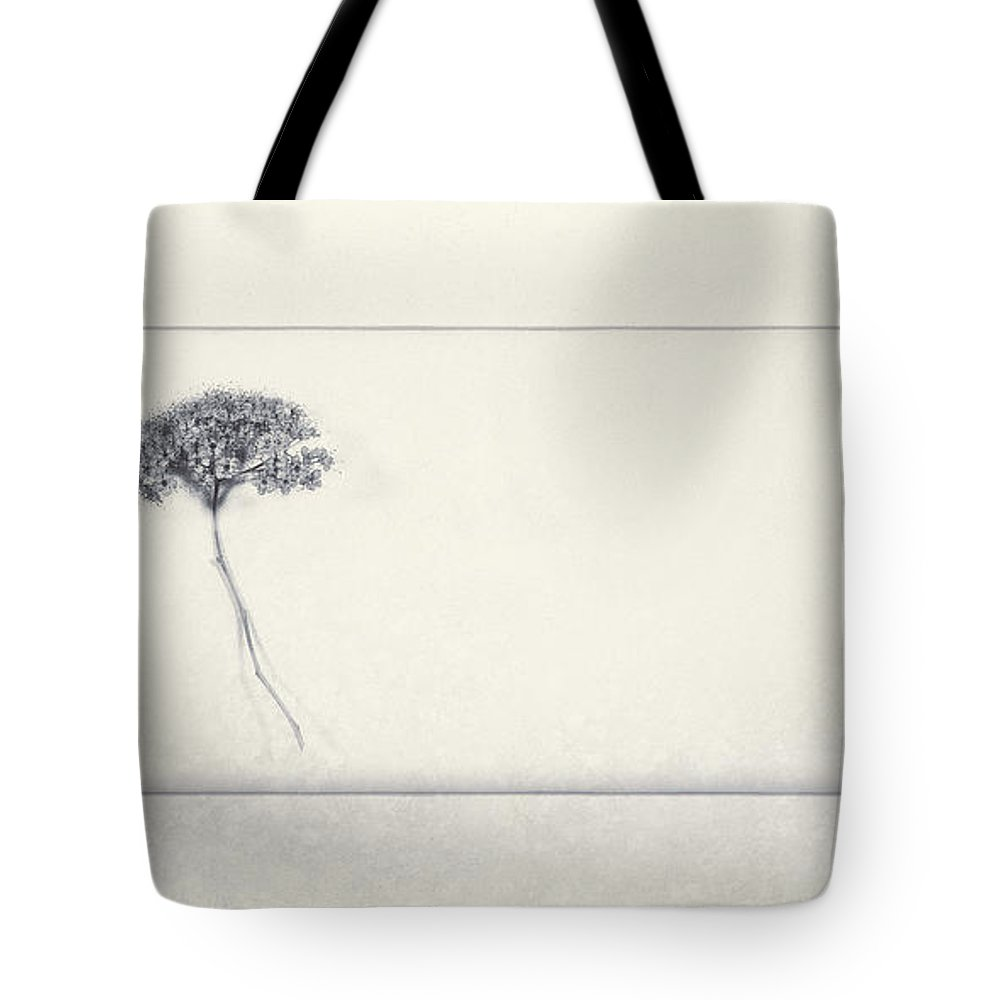 Flower Tote Bag featuring the photograph Miracle Of A Single Flower by Scott Norris
