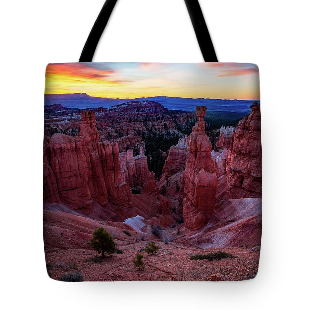 Amaizing Tote Bag featuring the photograph Thor's Light by Edgars Erglis