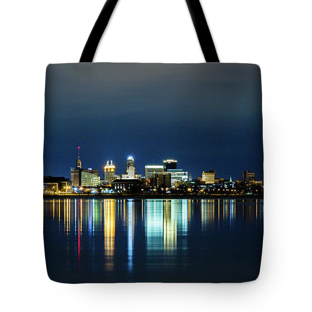 Landscape Tote Bag featuring the photograph Mirror Image by Gabriel Moroziuk