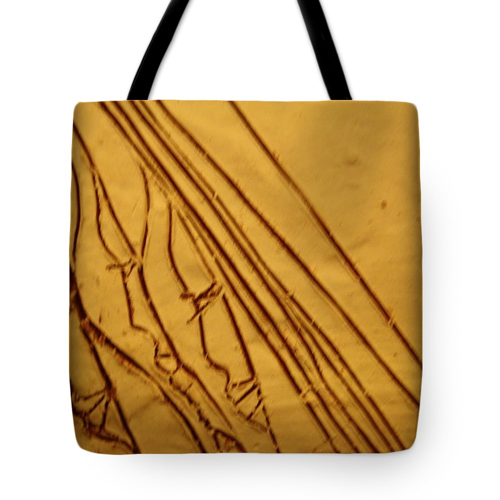 Jesus Tote Bag featuring the ceramic art Mirrors Of Life - Tile by Gloria Ssali