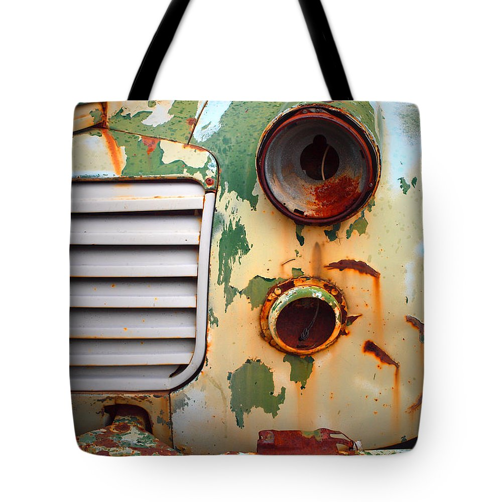 Car Tote Bag featuring the photograph Missing Parts by Tara Turner