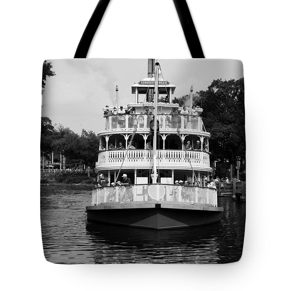 Walt Disney World Tote Bag featuring the photograph Mississippi Steam Boat by Rob Hans