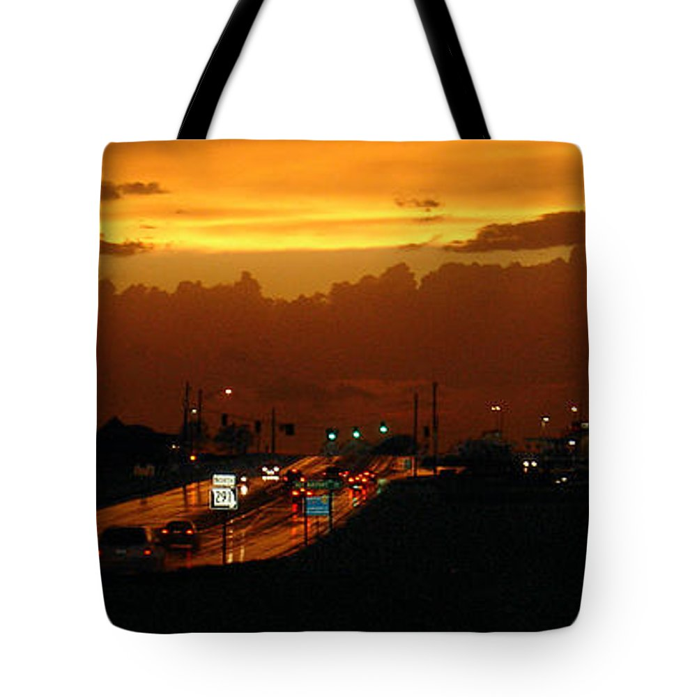 Landscape Tote Bag featuring the photograph Missouri 291 by Steve Karol