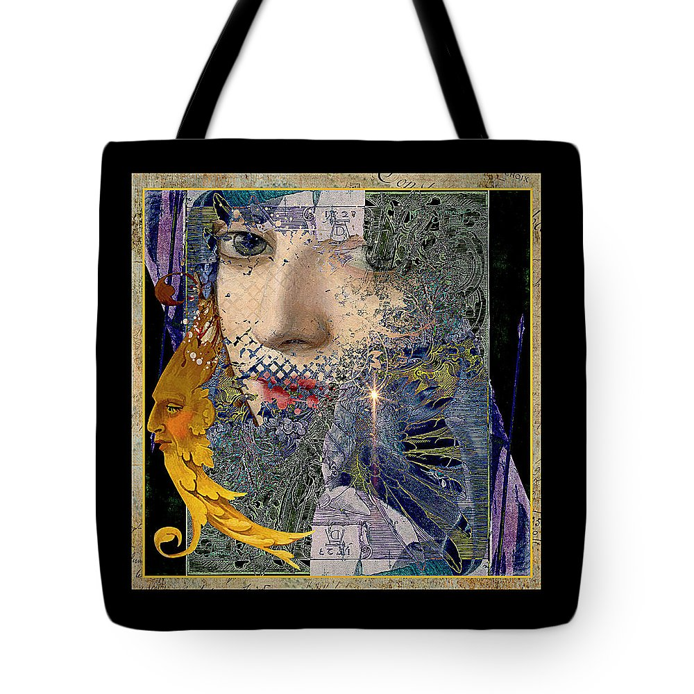 Dreamscape Tote Bag featuring the painting Mist Into Light by Laura Botsford