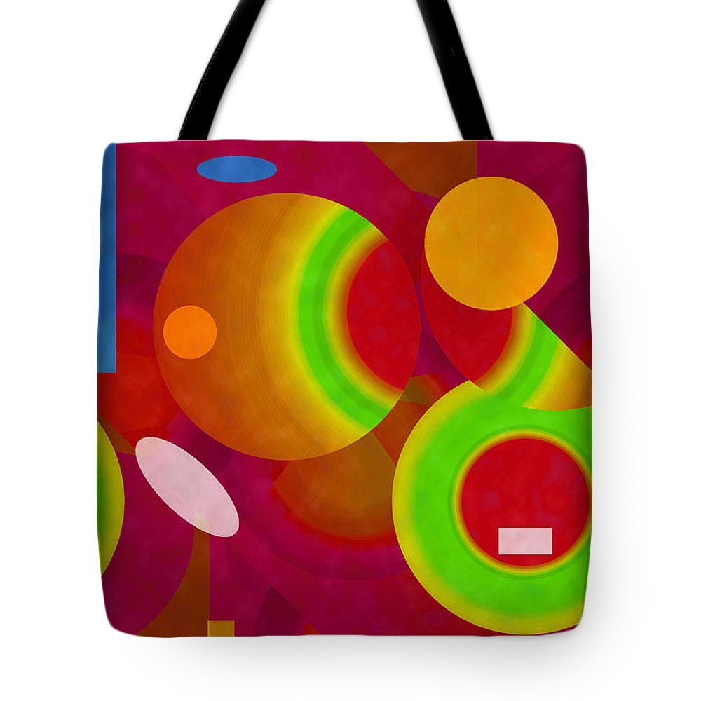 ruth Palmer Tote Bag featuring the digital art Mix And Match by Ruth Palmer