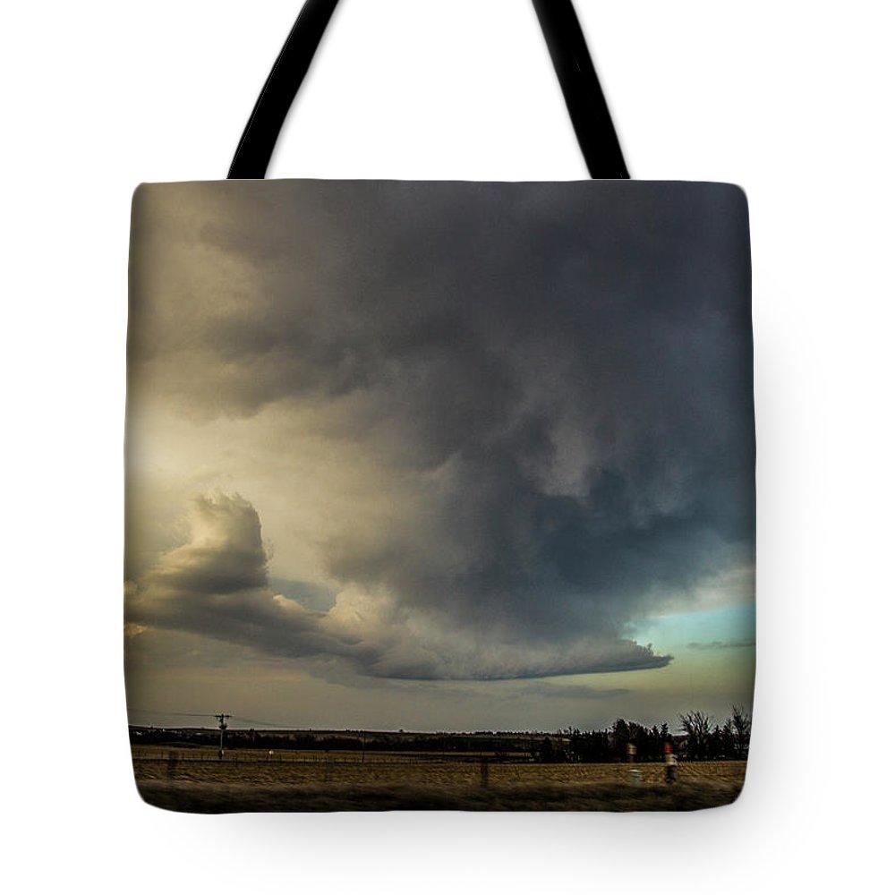 Nebraskasc Tote Bag featuring the photograph Moderate Risk In South Central Nebraska 012 by NebraskaSC