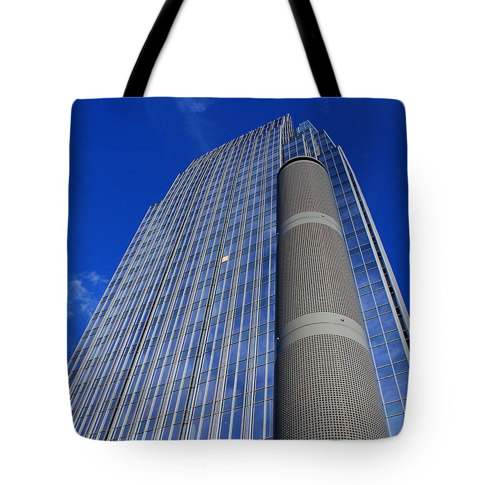 Glass Building Tote Bag featuring the photograph Modern Architecture II by Susanne Van Hulst