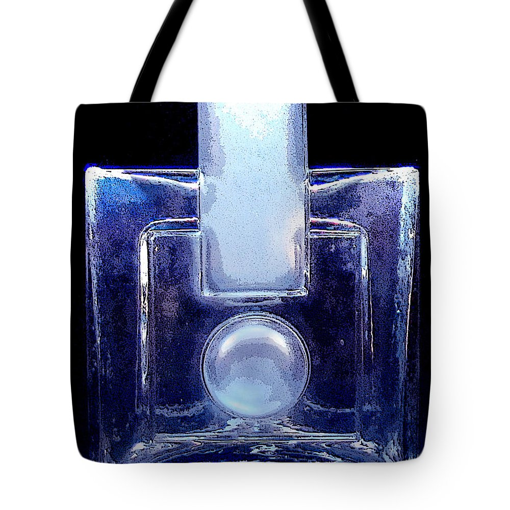 Humppila Tote Bag featuring the photograph Modern Design Vase by Merja Waters