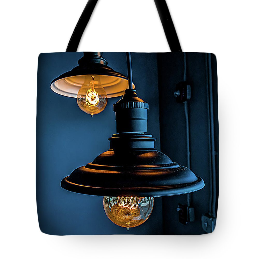Lighting Tote Bag featuring the photograph Modern Lighting by Ant Pruitt
