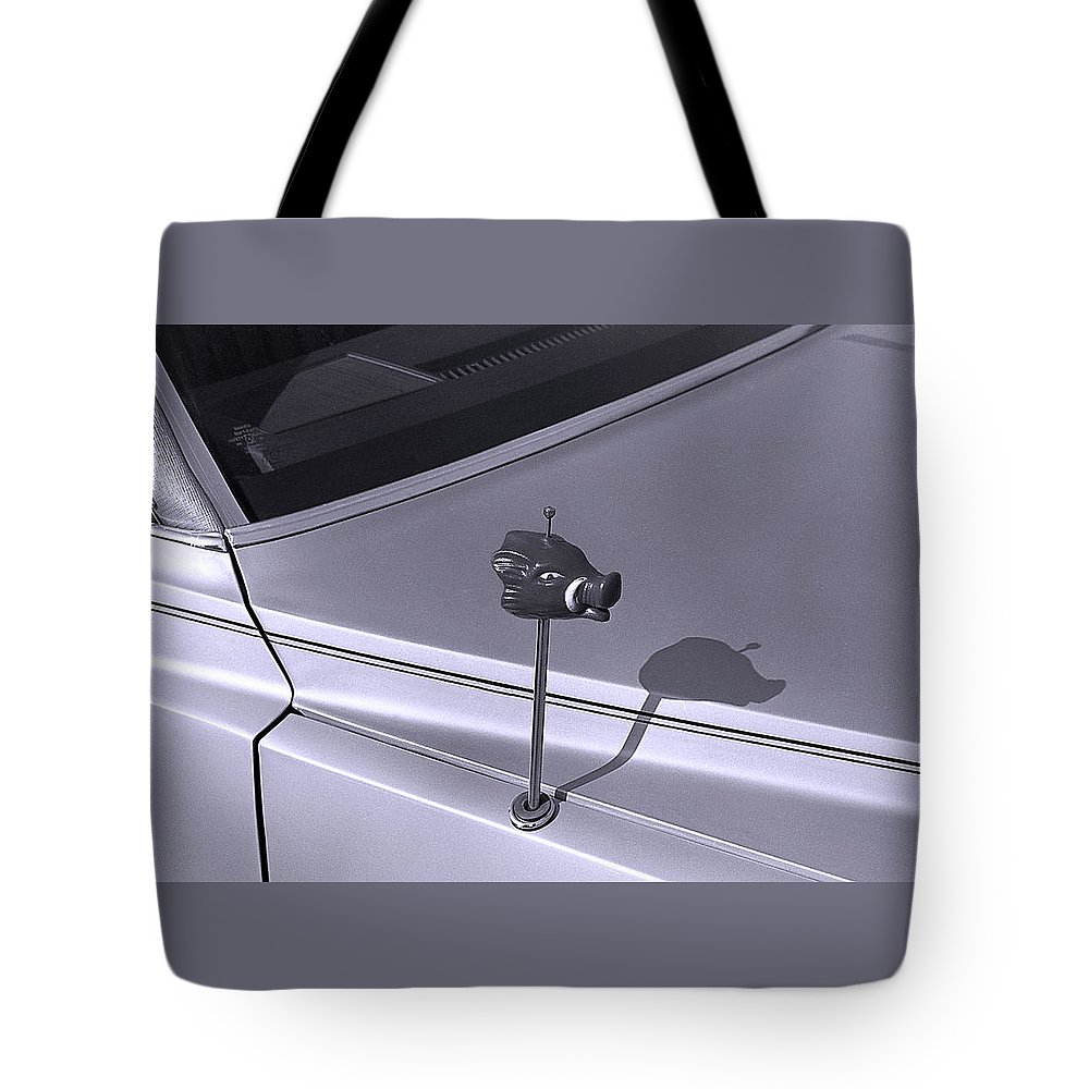 Primitive Tote Bag featuring the photograph Modern Primitive by Ted M Tubbs