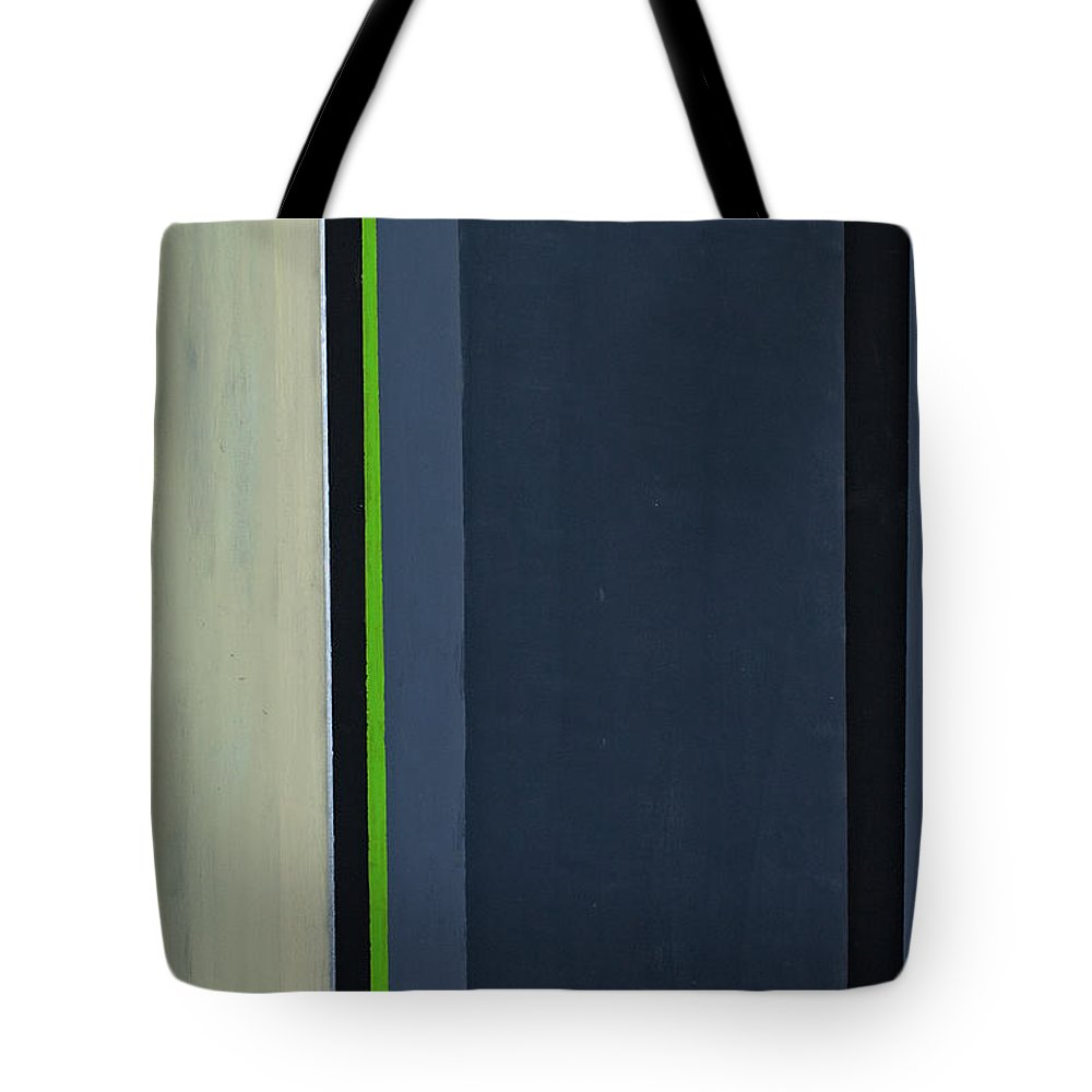 Geometric Tote Bag featuring the painting Modern Stripe 1 by Slade Roberts