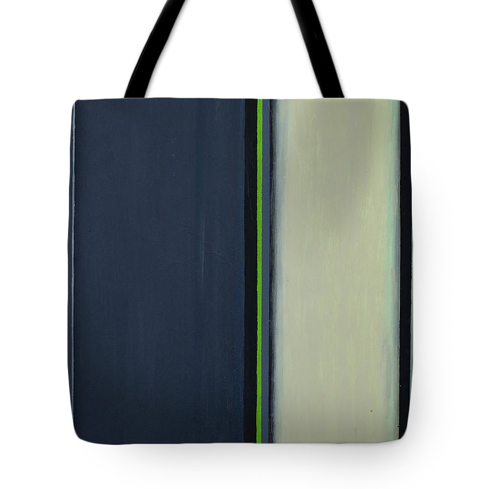 Geometric Tote Bag featuring the painting Modern Stripe 2 by Slade Roberts