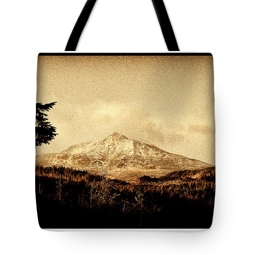Moel Tote Bag featuring the photograph Moel Siabod by Mal Bray
