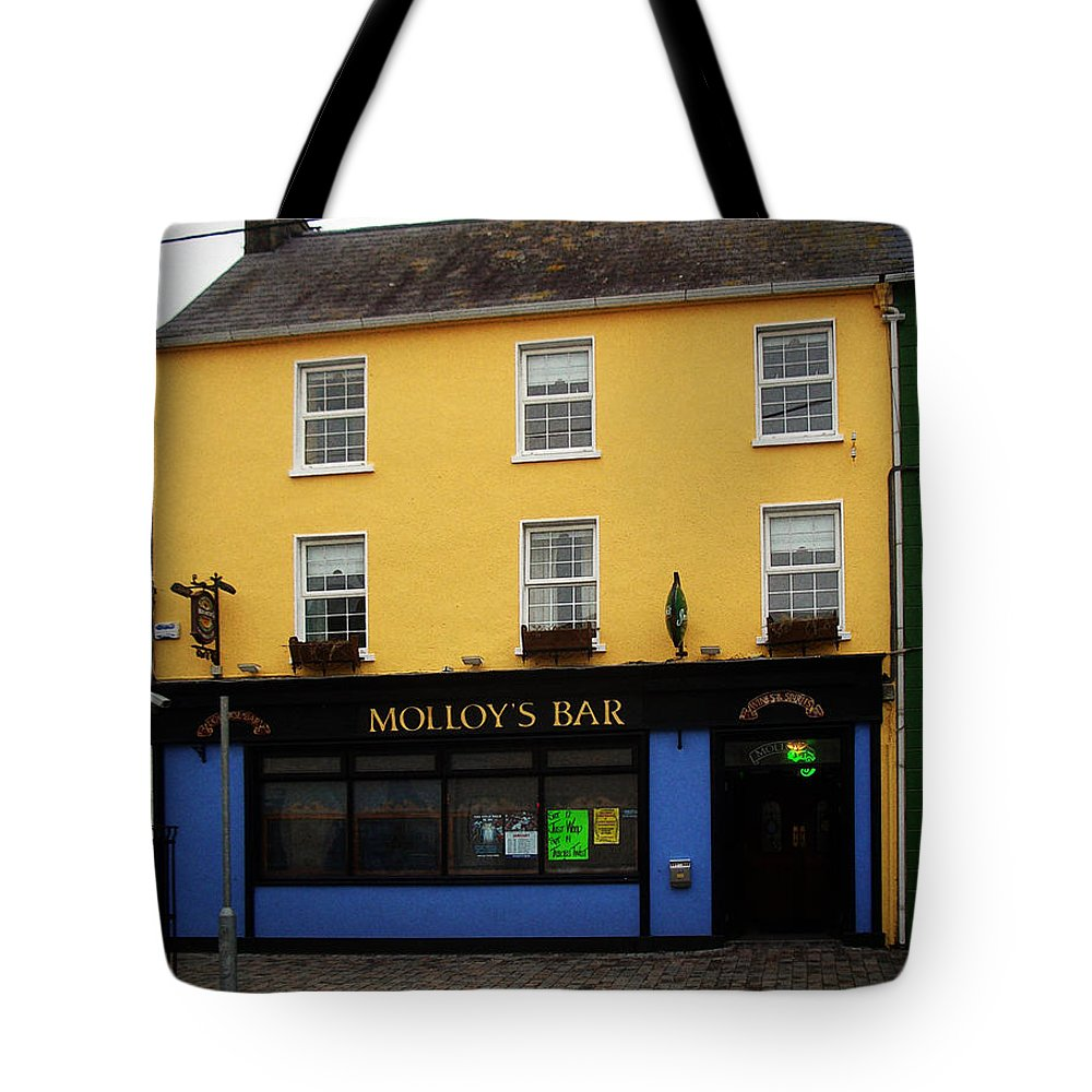 Pub Tote Bag featuring the photograph Molloy by Tim Nyberg
