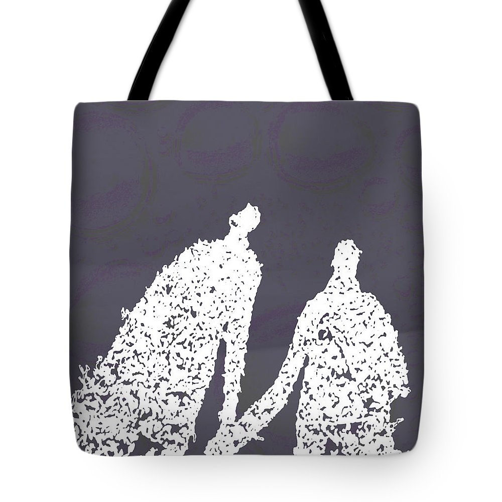 Bubbles Tote Bag featuring the photograph Monday In The Park With Vivian by Ken Walker