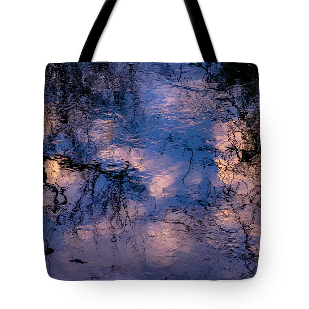Water Tote Bag featuring the photograph Monet On The Water by Travis Boyd