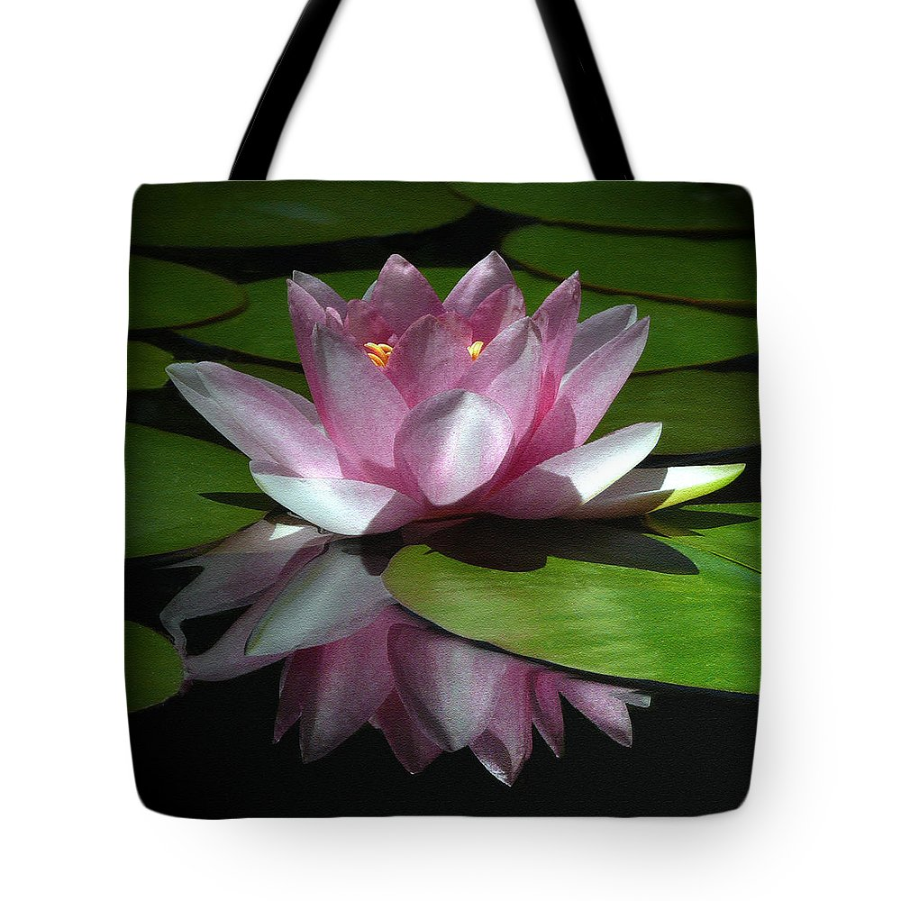 Floral Tote Bag featuring the photograph Monet's Muse by Marion Cullen
