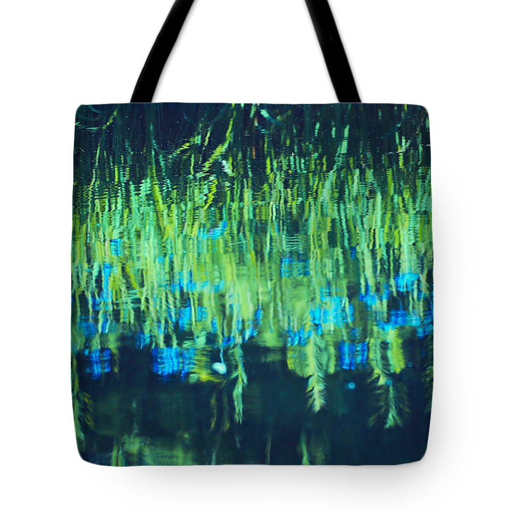 Lake Tote Bag featuring the photograph Monetta by Aimelle