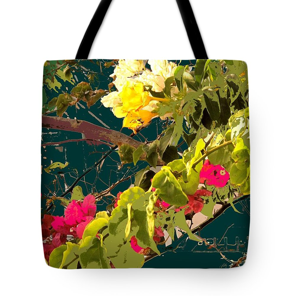 Tote Bag featuring the photograph Monica by Ian MacDonald