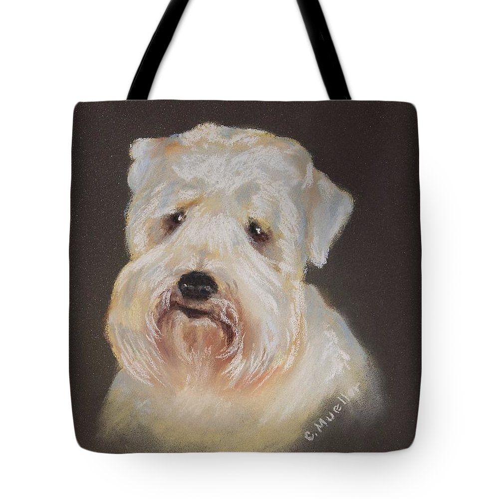 Pet Tote Bag featuring the painting Monique's Bailey by Carol Mueller