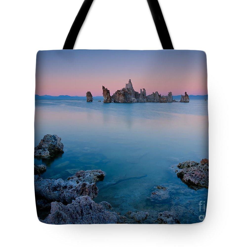 California Tote Bag featuring the photograph Mono Lake Twilight by Idaho Scenic Images Linda Lantzy
