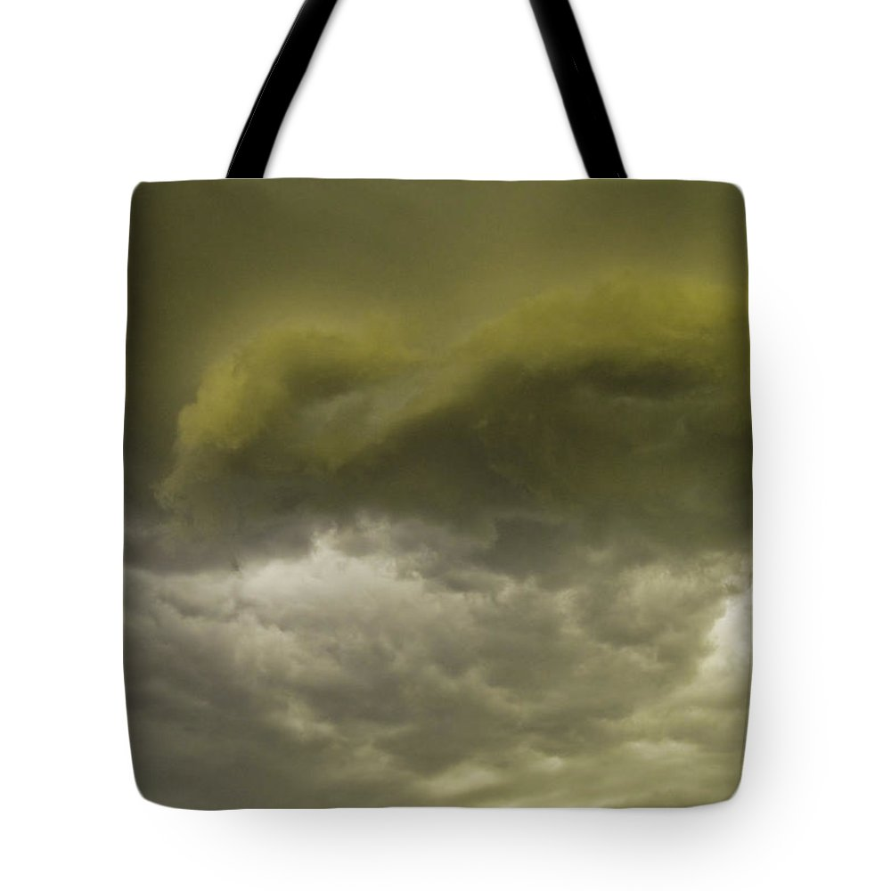 Sky Tote Bag featuring the photograph Monsoon by Tracy Skinner