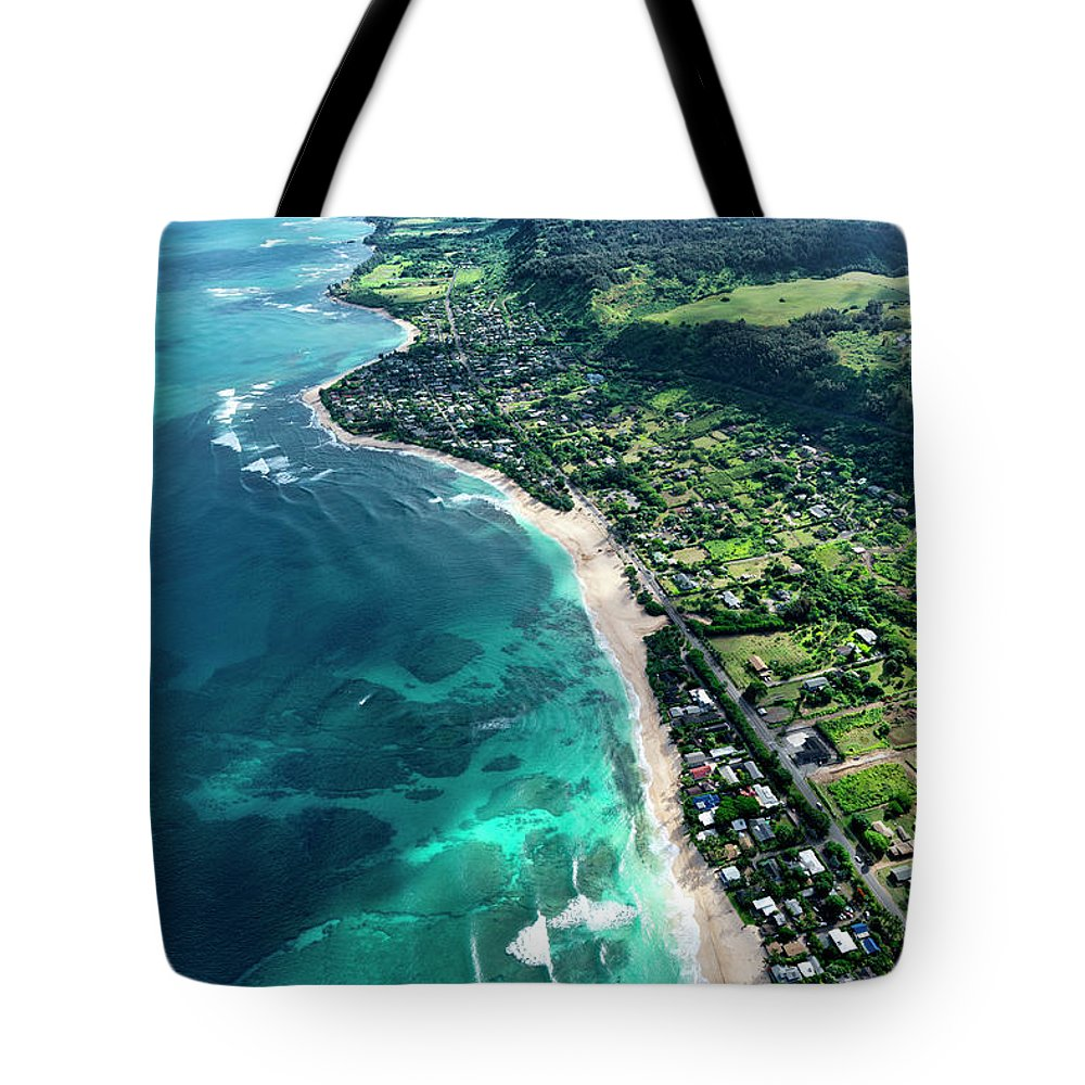 Sunset Beach Overview Tote Bag featuring the photograph Monster Mush And Sunset Point by Sean Davey