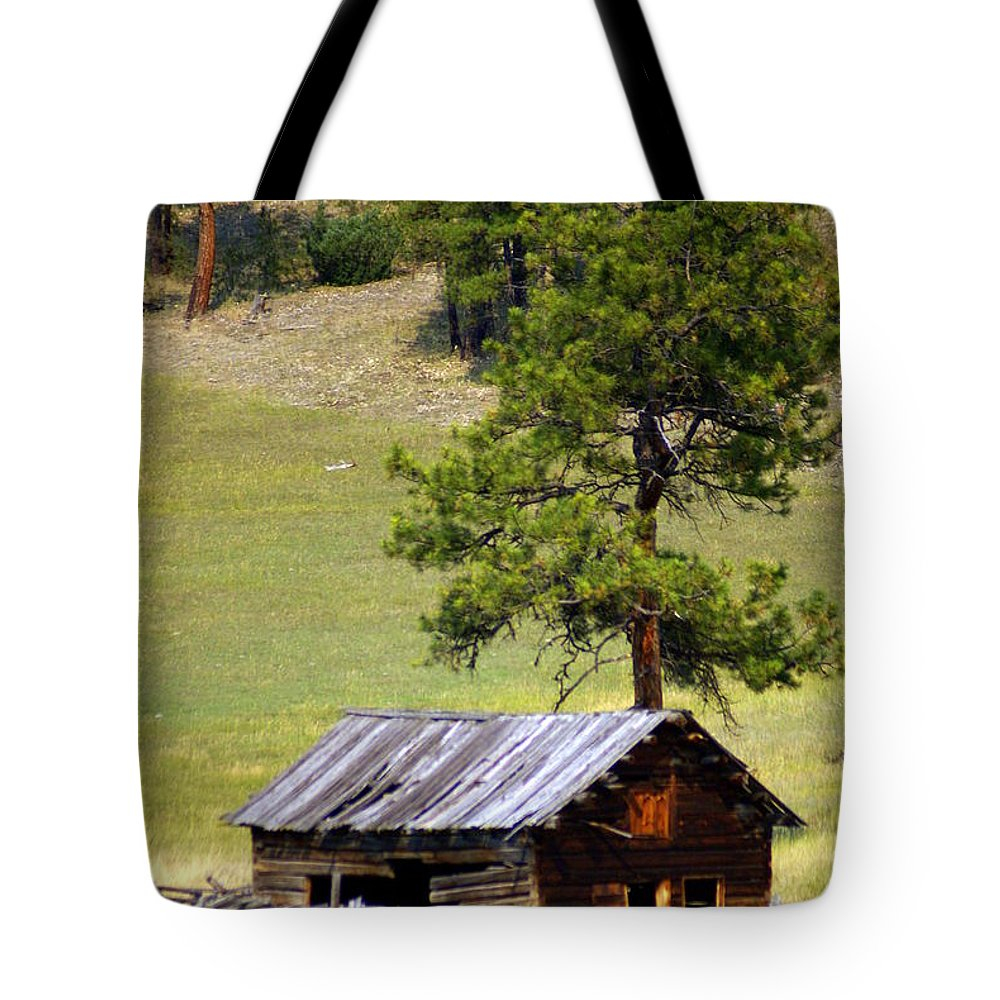 Ranch Tote Bag featuring the photograph Montana Ranch 2 by Marty Koch